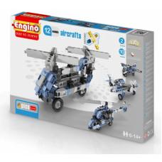 Конструктор ENGINO : Самолеты - 12 моделей, серия PICO BUILDS/INVENTOR