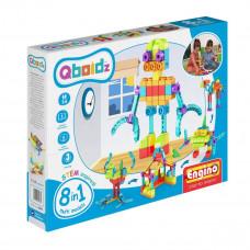 Конструктор: Робот, QBOIDZ набор из 8-и моделей