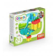 Конструктор: Слон, QBOIDZ набор из 2-х моделей