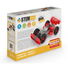 Конструктор ENGINO: STEM HEROES. Набор Скоростные механизмы. Формула 1