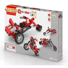 Конструктор ENGINO: Мотоциклы - 16 моделей, серия PICO BUILDS/INVENTOR