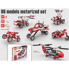 Конструктор: Набор из 90 моделей с мотором, серия INVENTOR