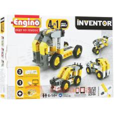 Конструктор ENGINO: Спецтехника - 4 модели, серия PICO BUILDS/INVENTOR