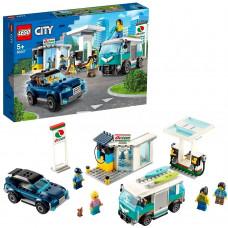 Конструктор LEGO City Nitro Wheels Станция технического обслуживания