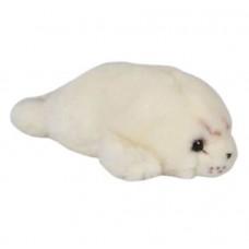 Игрушка «Тюлень» LEOSСO, серый, мягконабивная плюшевая, 23 см