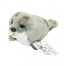 Мягкая игрушка «Серый пятнистый тюлень» LEOSСO, 24 см, 4028667186888