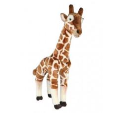 Мягкая игрушка «Жираф» LEOSCO, коричневый, 46см, 4028667189063