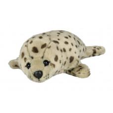 Мягкая игрушка «Нерпа» Leosco серая, 32 см, 4028667186673