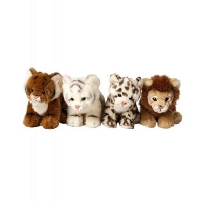 Мягкая игрушка «Дикие кошки» Leosco в ассортименте, 23см, 4028667115048