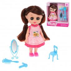 Кукла Лилли 16 см с набором аксесс., в компл. 5 предм., кор.