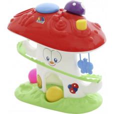 """Развивающая игрушка """"Забавный гриб"""" (в сеточке), со звуком 47892"""