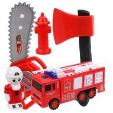 Игровой набор «Пожарного» с рацией, в пакете, 5 предметов Наша игрушка