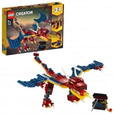 Конструктор LEGO Creator Огненный дракон