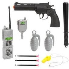 Игровой набор Полиция в комплекте 10 предметов 3 года + НАША ИГРУШКА 638553