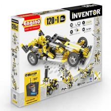 Конструктор ENGINO INVENTOR Набор из 120 моделей с мотором