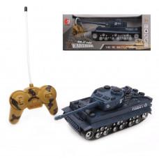 Танк р/у, 4 канала свет, звук, элемент питания ААх6шт. не входит в комплект, коробка
