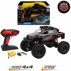 Краулер Р/У «Гидроход» 4WD, плавает в воде, аккумулятор, 870426