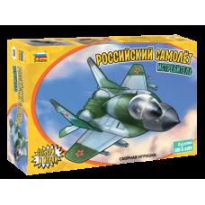 Сборная модель: «Детский российский самолет истребитель»