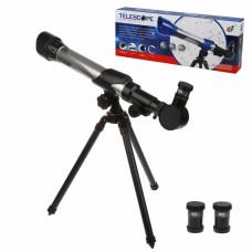 Телескоп детский на ножках, объектив 60 мм, фокус: 140 мм, коробка