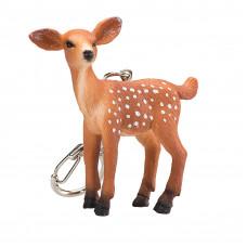 Mojo Брелок с фигуркой Белохвостый олененок Animal Planet 387435