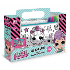 """Пенал-клатч для раскрашивания LOL """"Glam life"""" 22*12*0,7 см. LC0005"""