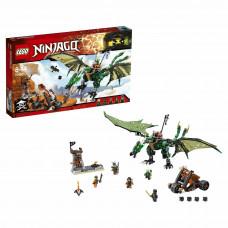 Конструктор LEGO Ninjago Зелёный Дракон 567 деталей