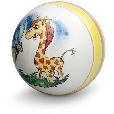 Мяч детский с рисунком 20 см, в ассорт.