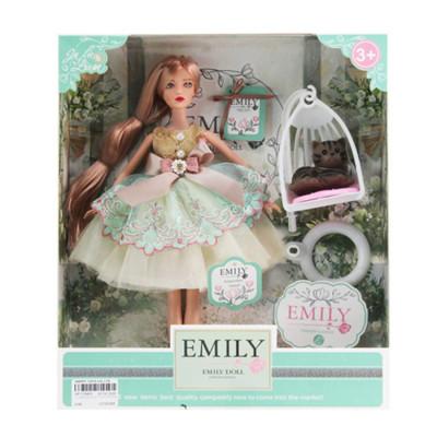 """Игровой набор """"Модница"""" в комплекте: кукла 29 см, кот, предметов 2 шт, коробка 644955"""