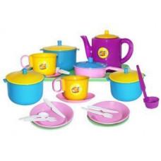 Набор посуды Обед Пластмастер 21056