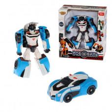 Трансформер Робот-Полицейская машина, коробка