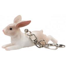 Mojo Брелок с фигуркой Кролик лежит Animal Planet