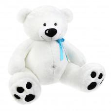 Мягкая игрушка «Мишка Умка» белый с голубым бантиком Fluffy Family, 80см, 681182