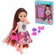 Кукла 18см с набором аксесс., в компл. 6предм., кор., в ассортименте