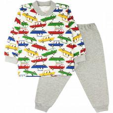 Пижама для мальчика Юлла футер 32300202