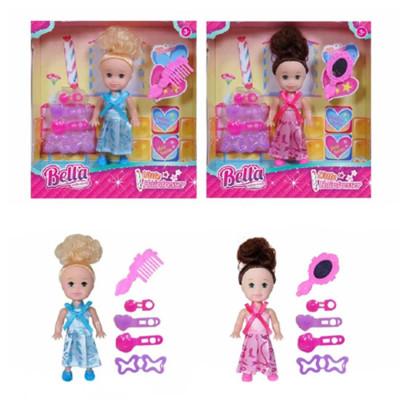 """Игровой набор """"Модница"""", в комплекте, кукла 8см, 6 предметов НАША ИГРУШКА 645242"""