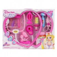 Игровой набор медсестры 11 предметов Наша игрушка