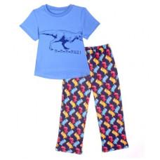 "Пижама ""R-R-R-REX!"" для мальчика 16634"