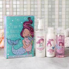 Набор I'm really a mermaid: шампунь, бальзам, спрей для тела