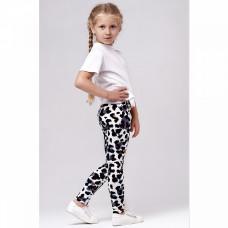 Легинсы леопардовые детские кулирка Юлла 129100502