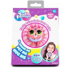 Интерактивная игрушка Пушистик Tiny Furries Mallow Silverlit, розово-белый, 8см, 83690_2