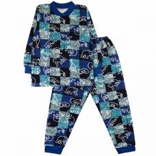 Пижама для мальчика футер Юлла 32300401