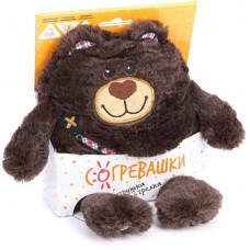 Игрушка-грелка Медвежонок 19 см с вишневыми косточками 83463