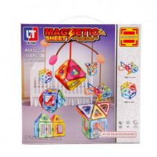 Конструктор магнитный 30 деталей Наша игрушка 637306