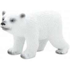 Mojo Фигурка Белый полярный медвежонок в движении, 4 см