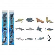 Игровой набор Морские животные, 6 фигурок, в асс., кор