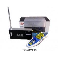 Катер р/у, аккумуляторный 4 канала, зарядка от пульта, 10 м