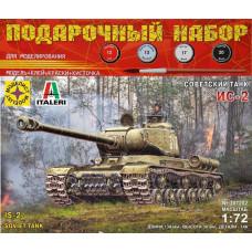 Модель для сборки Советский танк ИС-2  1:72