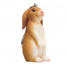 Mojo Брелок с фигуркой Кролик сидит Animal Planet