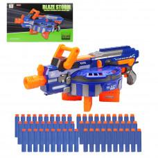 Бластер электрифицированный с мягкими пулями, 60 м/пуль