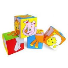 Кубики Мякиши Животные 2